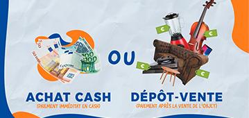 Vous préférez l'Achat Cash ou le Dépôt-Vente ?
